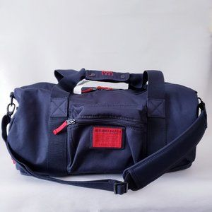 Abercrombie & Fitch Duffle Bag - Navy & Red